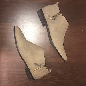 Restricted   Tan Ankle Boots